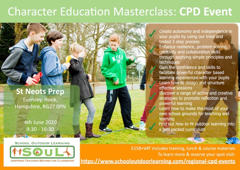 Character Education CPD for Teachers