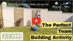 Ring of Confidence – A fun activity that challenges the coordination and communication of teams.