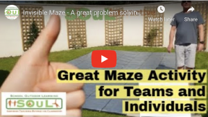 Invisible Maze - A great problem solving and communication exercise for small and large teams.