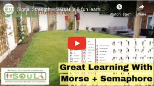 Signal Strength – powerful, versatile and fun learning activities using Morse Code and Semaphore signalling!