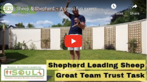 Sheep and Shepherd – A great fun and challenging team exercise that will test strategy, planning and clear communication within teams.
