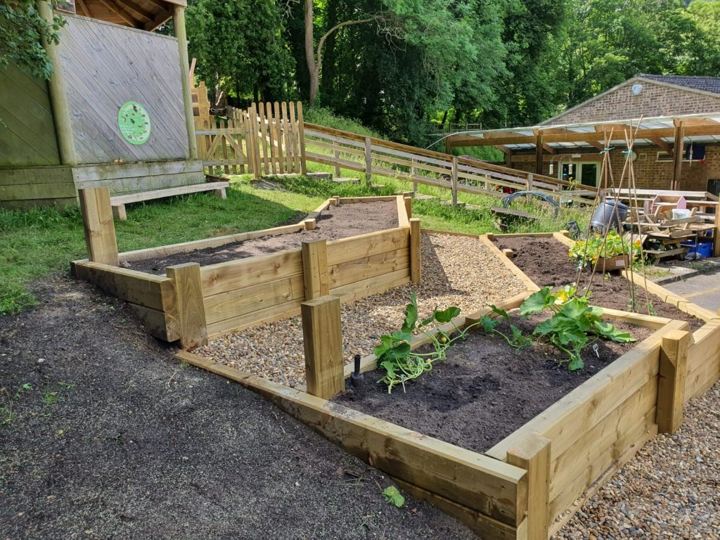 Allotment Built By SOuL at Streatley Primary School
